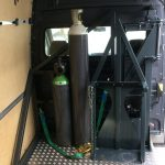 Machinebouw-Swiftloader-Gas cilinder-vervoer-gasfles-transport