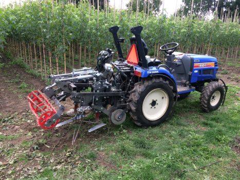 DvO Weeding Machine Tree Nursery