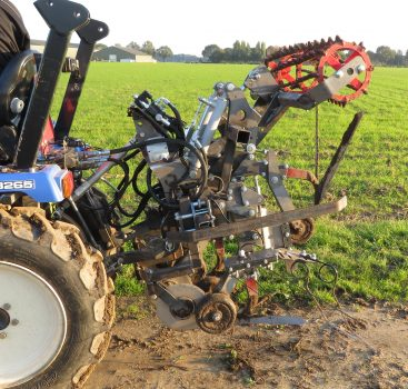 Mechanical Weeding Machine Tree nursery