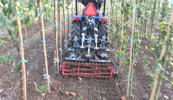 Crop Guided Weeding Machine